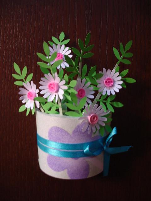 punched flower vase. | Flickr - Photo Sharing!