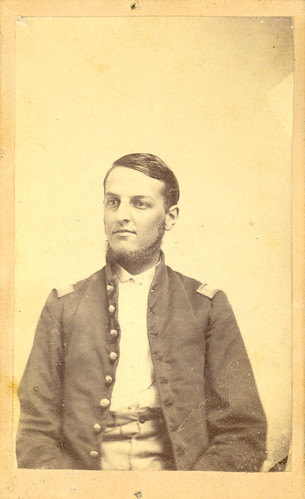 Howard Forrer in his First Lieutenant uniform, undated