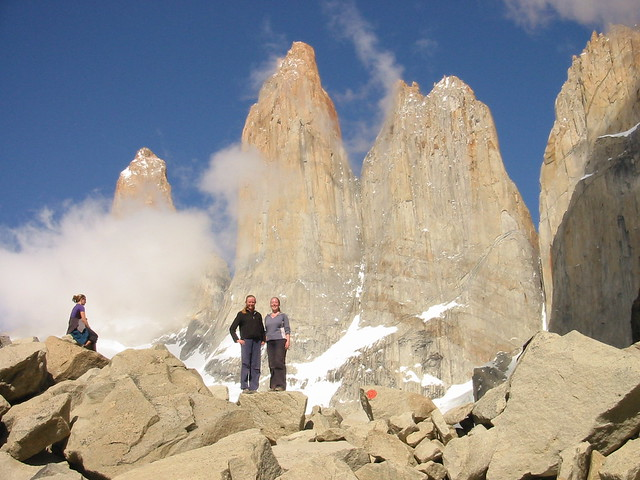 "Torres del Paine ""W"" trek, day 5: Las Torres Lasses"