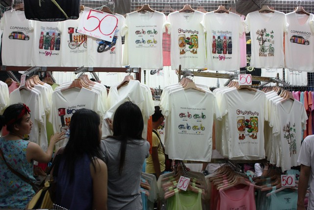 Shirts in Chatuchak Market