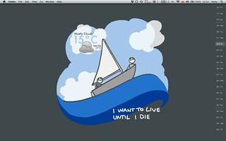 I'm digging my new desktop