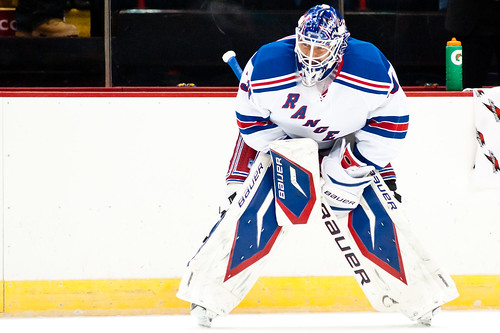 Henrik Lundqvist | New Jersey Devils vs. New York Rangers - September 21st, 11