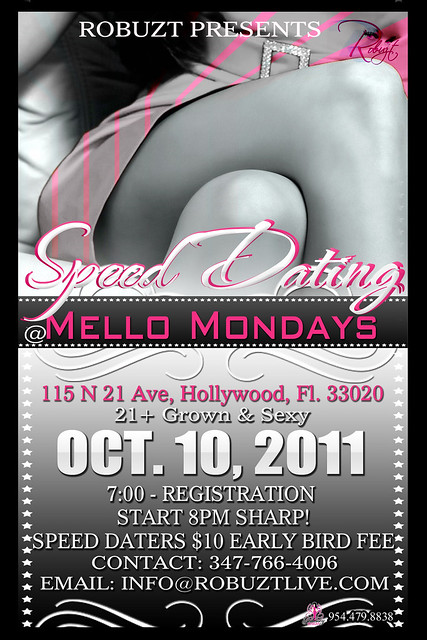 speed dating flyers What are the chances of mating and relating after a speed dating event.
