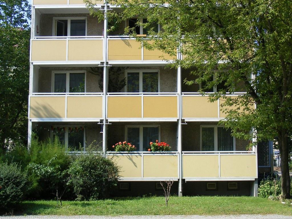 East Berlin flats,Habersaathstrasse.