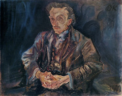 Adolf Loos, 1909, by Oskar Kokoschka