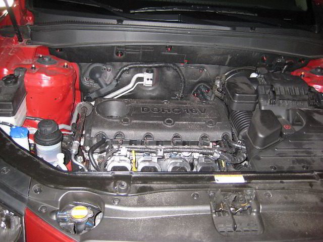 Hyundai santa fe suv 2 4l i4 theta ii engine for more for Motor oil guide for cars