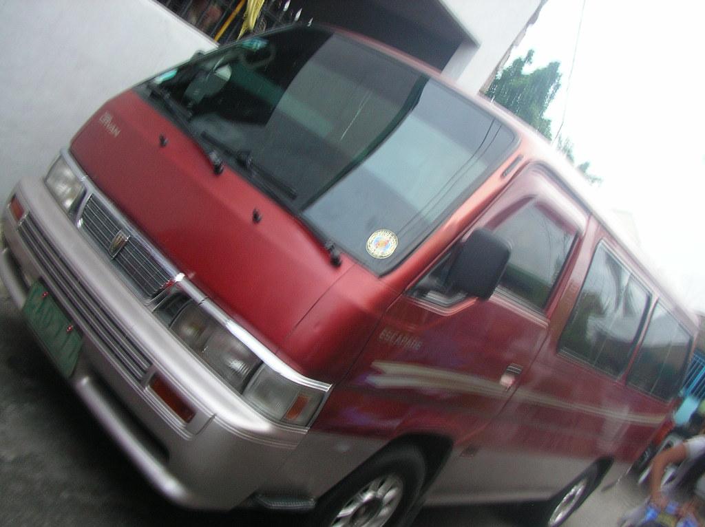 1998 Nissan Urvan Escapade