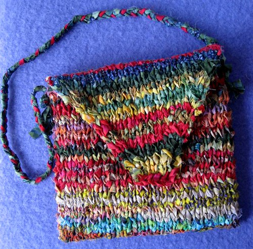 Quilted Knitting Bag Pattern : Free patterns for quilted purses