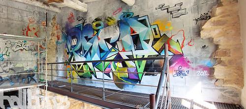 julien avignon blog archive d co loft street art graffiti. Black Bedroom Furniture Sets. Home Design Ideas