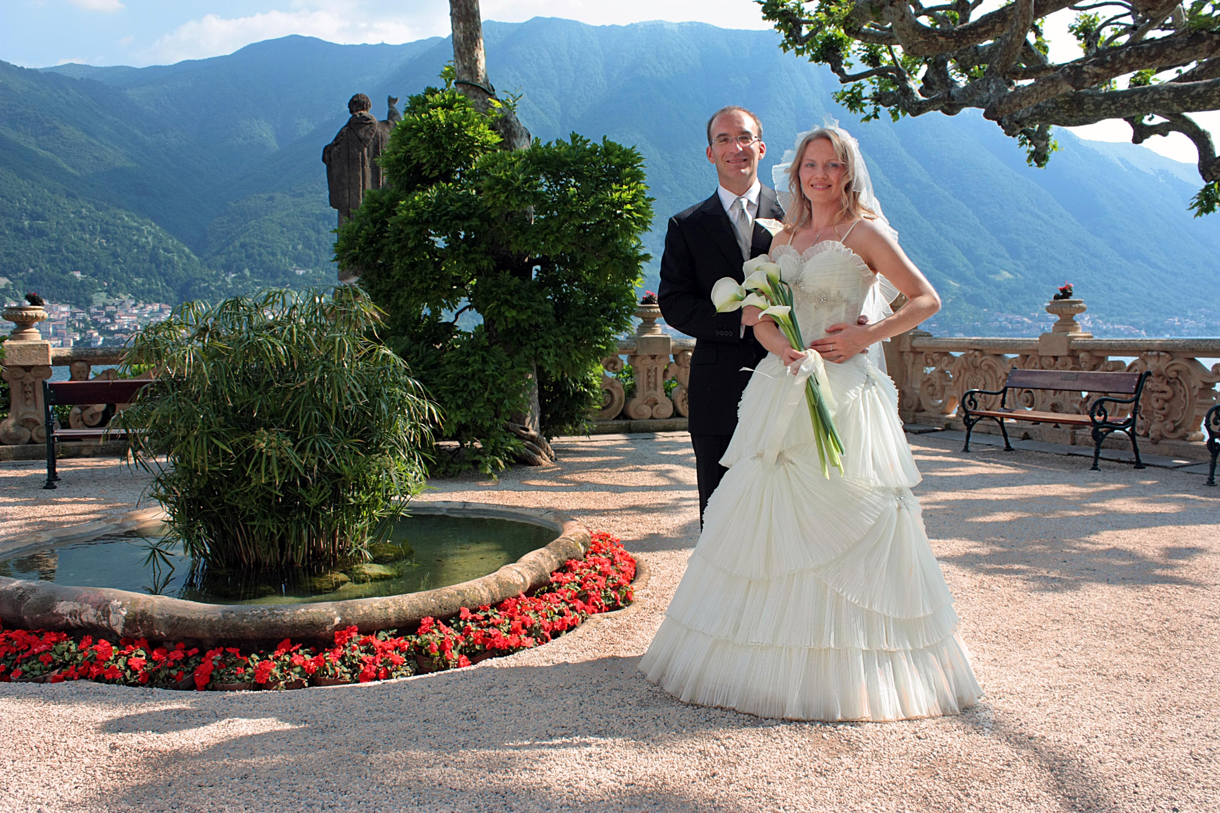 свадьба на озере Комо, вилла Балбьянелло
