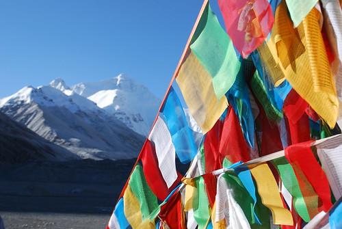 """Everest, tibet dal libro """"Giorno per giorno, l'avventura"""" di Walter Bonatti"""