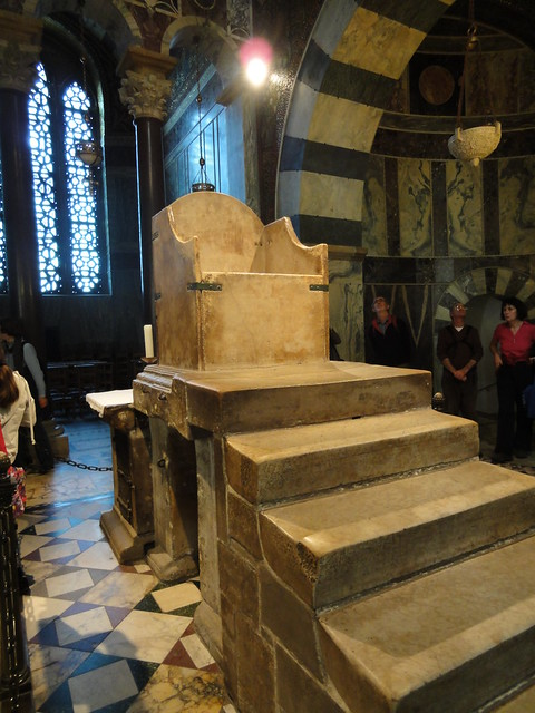Charlemagnes Throne Charlemagne's throne |...