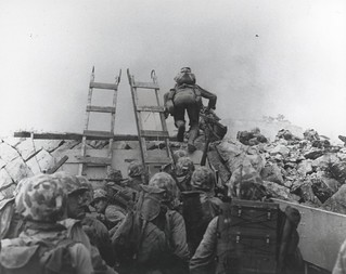 Marines Landing at Inchon, Korea, 15 September 1950