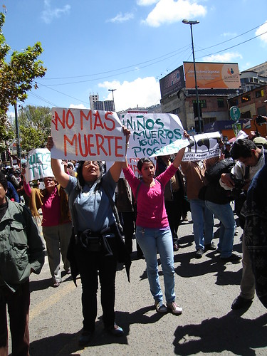 Protest in Bolivia by payorivero, on Flickr