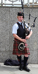 musician, clothing, kilt, costume, bagpipes, wind instrument,