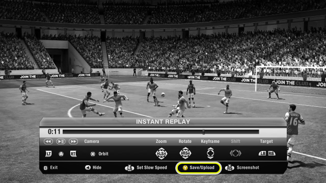 Upload your goal to EA SPORTS Football