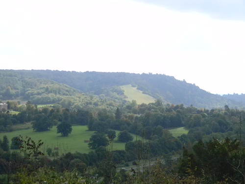Box Hill from viewpoint