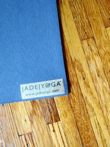 Jade Yoga Mat Blue