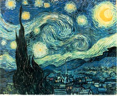 Vincent Van Gogh, Starry Night, 1889