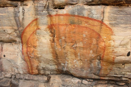 Rainbow Serpent at Ubirr - Kakadu National Park - Northern Territory (Australia)