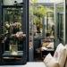 Madderlake Designs / Thibault Jeanson {black and off - white loft conservatory sun room living room}