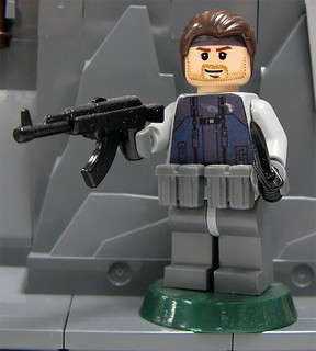 LEGO Custom Metal Gear Solid - Solid Snake
