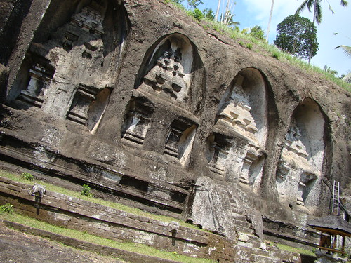 Bali ~ Tombs of the Ancient Kings of Bali by Vasenka