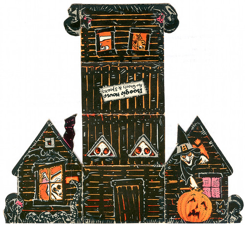 Boogie's House for Ghosts and Spooks (1950s)