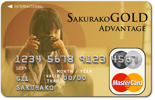 SAKURAKO Gold Card.