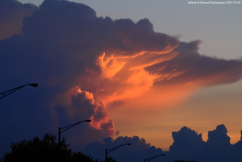 sunset sky cloud storm photo interestingness flickr explore thunderstorm sunlit thunder anvil explored