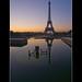 Paris, la Tour Eiffel by Zed The Dragon