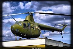 Soviet Helicopter Mil' Mi-1. 1949. Советский вертолёт Ми-1.