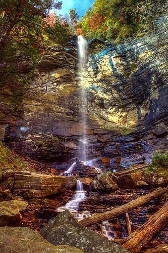 park sc jones state south gap falls carolina hdr