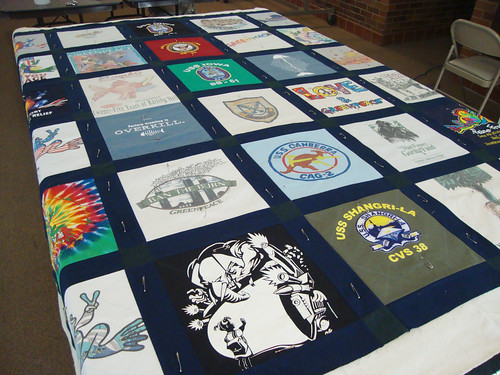 How To Finish Your T Shirt Quilt By Christmas Quilt
