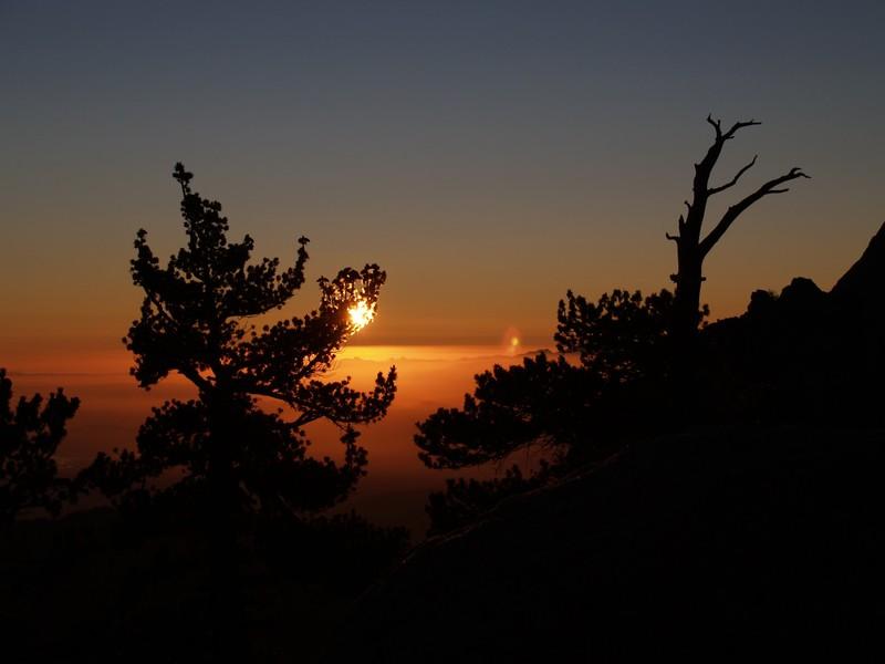 Little Round Valley Sunset