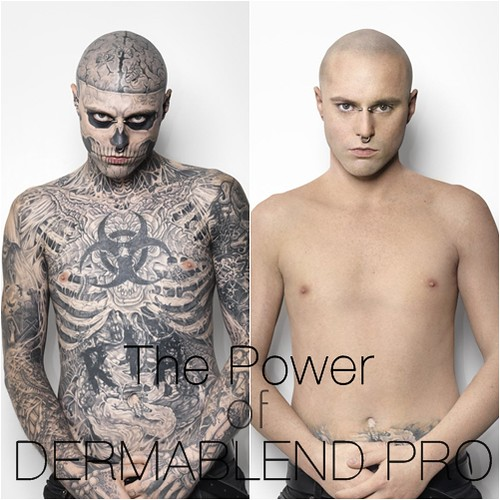 Tattoo cover up concealment how to look employed for Dermablend tattoo cover up