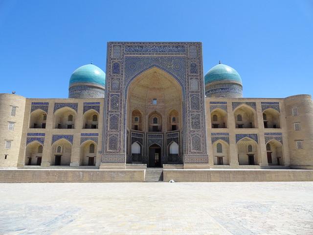 Mir-i-Arab Madrasa, Buchara, Uzbekistan by travelourplanet.com, on Flickr
