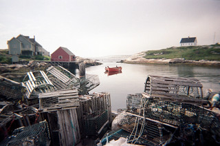 Lobster Traps and Cove