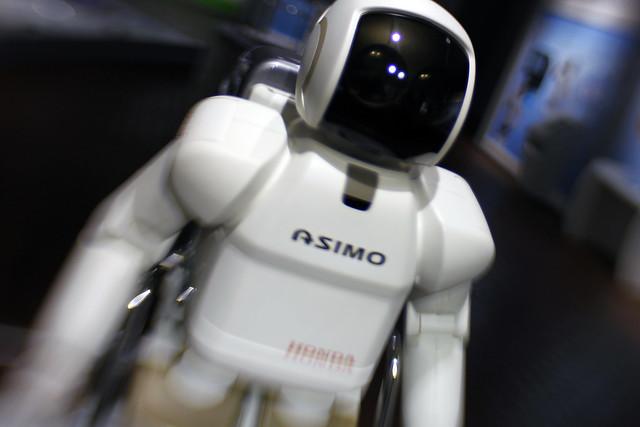 Fancy Pants ASIMO