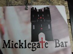 Yorkshire Holiday 2011, Micklegate Bar in York.