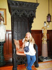 Bishop's throne (and Truman Capote's favorite seat!), Yaddo
