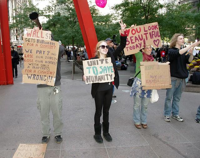 Day 3 Occupy Wall Street 2011 Shankbone 8