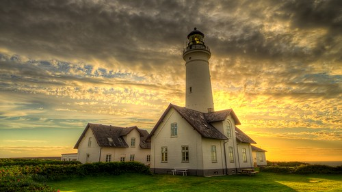 Hirtshals lighthouse, Denmark