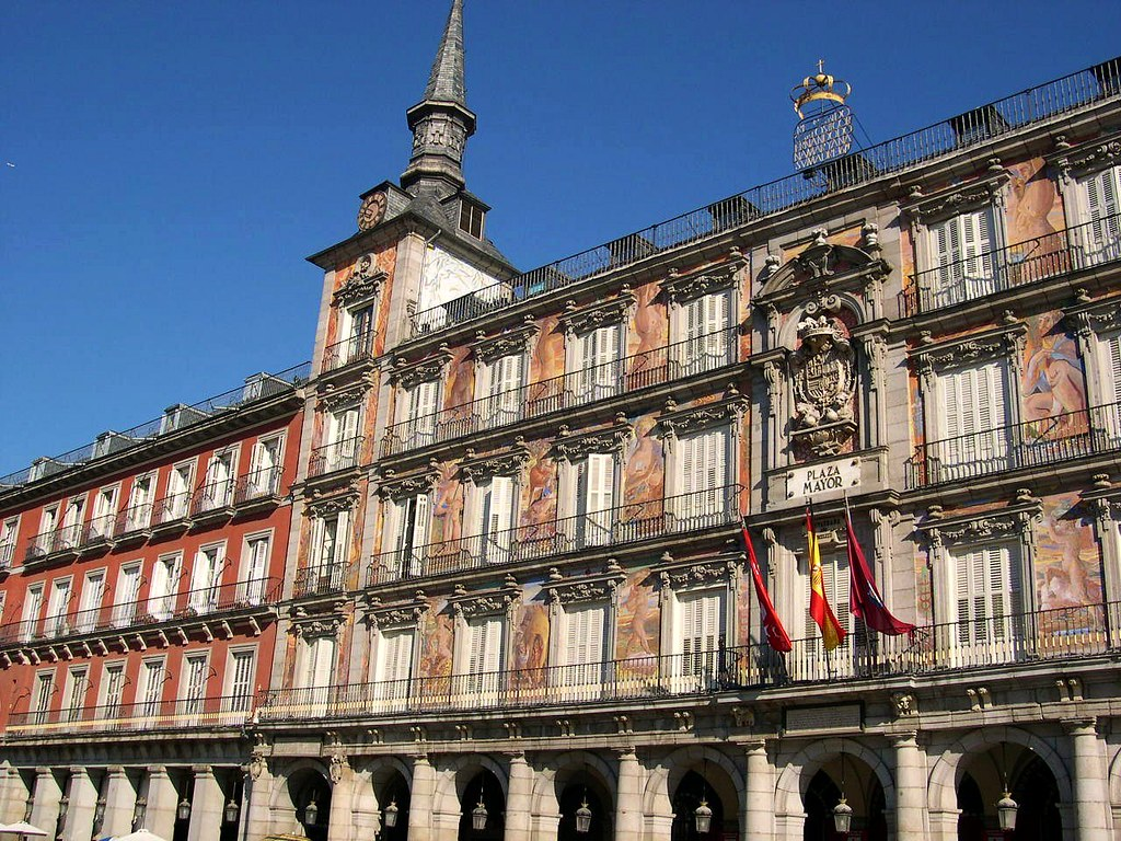 spanien plaza mayor