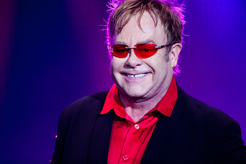 Elton John no Palco Mundo