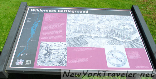 Wilderness Batleground Plaque