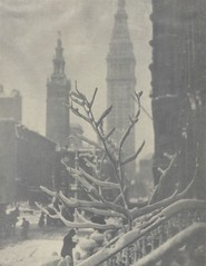Two Towers, New York, 1913, From Camera Work, by Alfred Stieglitz