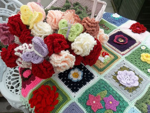 Thanks to everyone for contributing Squares to 'Grow me a Garden'. (2)
