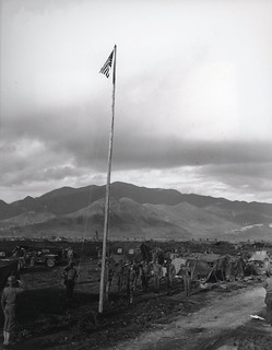 First Colors Officially Raised in Korea, 24 August 1950