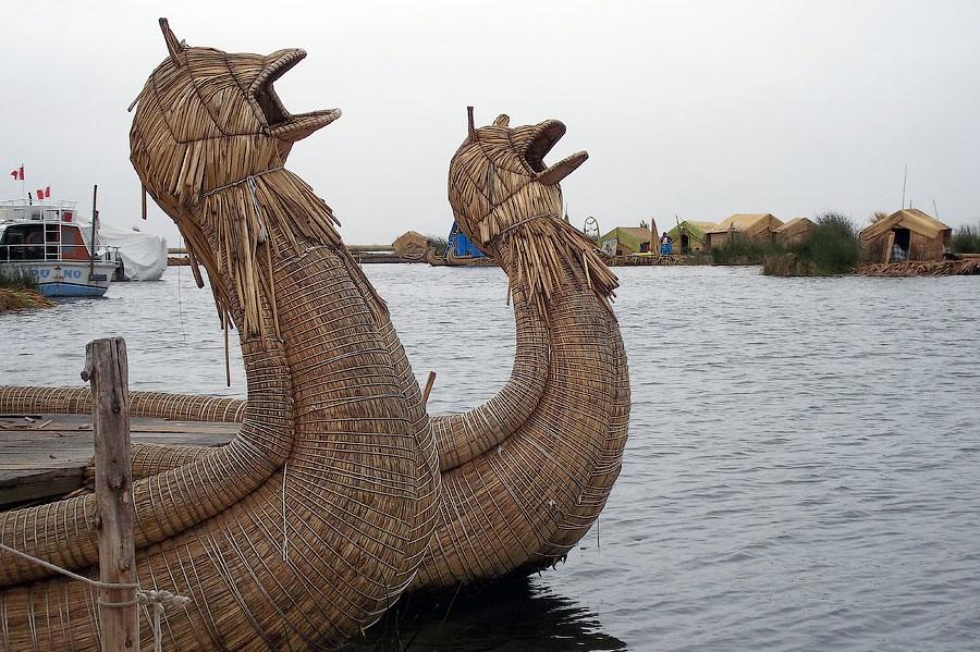 Плавучиеострова Урос © Kartzon Dream - авторские путешествия